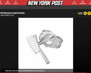 Wendy Brandes Jewelry in the New York Post