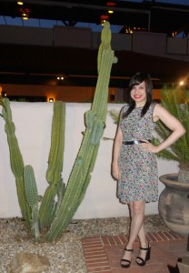 What Wendy Wore: MrB Gets an Award in Tucson