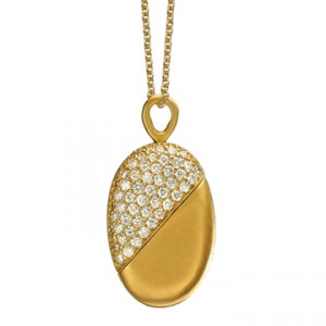 "Valentine's Day Splurge: The ""Sophie"" Twisting-Heart Necklace"