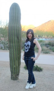 What Wendy Wore: AGTA Spectrum Awards in Tucson