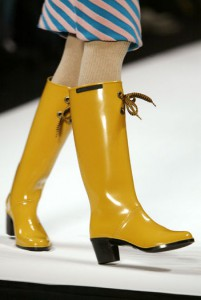 Marc by Marc Jacobs and My Yellow Rain Boots
