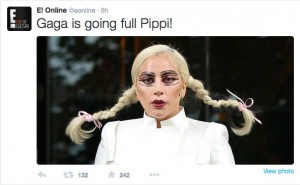 Fashion Repeats Itself: Gaga Has Noli Braids!