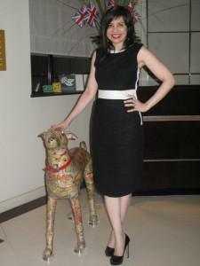 What Eryn Wore: Wendy's Chris Benz Dress