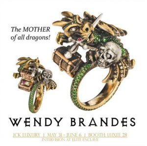 Wendy Brandes Jewelry at JCK LUXURY