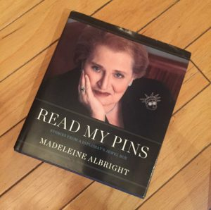 Madeleine Albright's New Hillary Brooch?