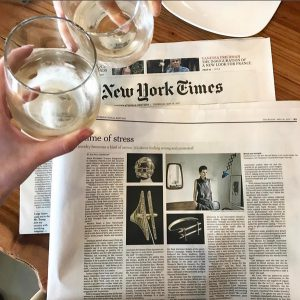 InDesign and in the Times!