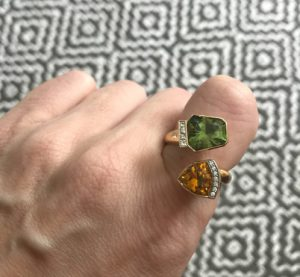 Jewel of the Month: Toi et Moi Ring for ANZA Gems