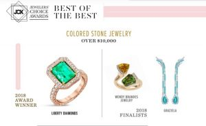 I'm a JCK Jewelers' Choice Awards Finalist!