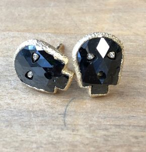 Jewel of the Month, Part II: New Skull Earrings