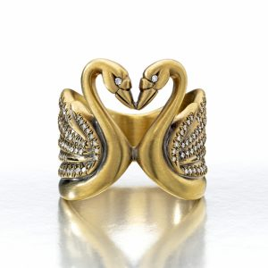 Jewels of the Month: Swans A-Swimming on 1stdibs