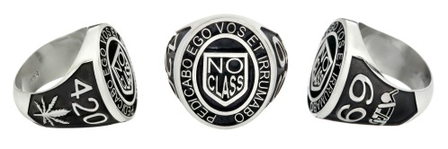 """Jewel of the Month: New """"No Class"""" Signet Ring"""