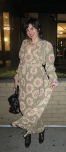 What Wendy Wore: Double-Vintage Ossie Clark