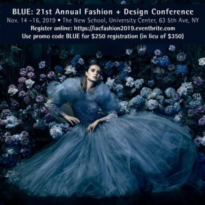 Blue for Less: Join Me at Fashion + Design Conference