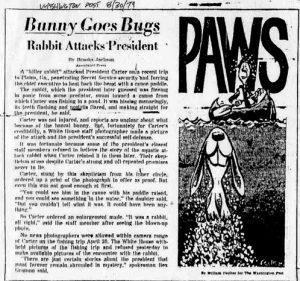 Throwback Thursday: Jimmy Carter's Bunny